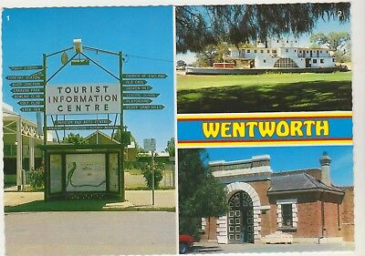 Multiscene Wentworth Nsw Nucolorvue Postcard
