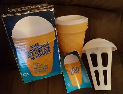 Vintage 1986 - the incredible ice cream machine - barry & stacy helman