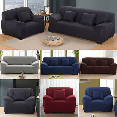 Stretch Couch Sofa Lounge Covers Recliner 1 2 3 4 Seater Dining Chair Cover AU