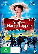 Mary Poppins - Disney Collection Dvd (Julie Andrews) - Brand New & Sealed (R4)