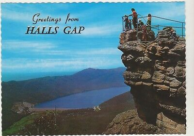 The Pinnacles The Grampians Victoria Nucolorvue Postcard
