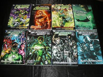 Blackest Night Green Lantern Rise Of The Black Lanterns Corps Vol 1 Prelude Tpbs