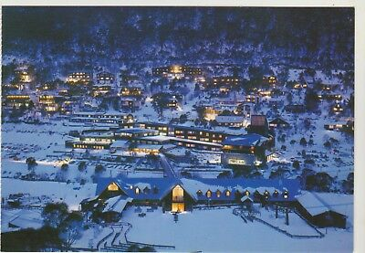 Alpine Village Thredbo Snowy Mountains Nsw Nucolorvue Postcard