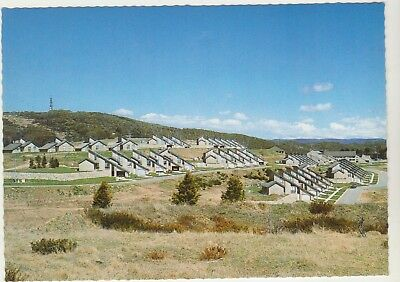 Overlooking Township Of Cabramurra Nsw Nucolorvue Postcard