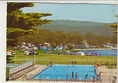 War Memorial Swimming Pool Narooma Nsw Murray Views Postcard
