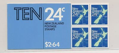 LJ61548 New Zealand maps cartography fine booklet MNH