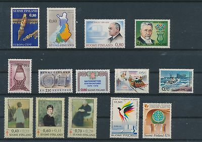 LJ62365 Finland nice lot of good stamps MNH