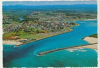 Aerial View Port Macquarie Nsw Murray Views Postcard
