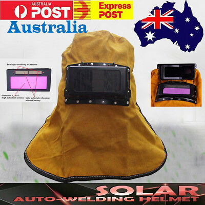 Solar Auto Darkening Welding Helmet Mask for ARC TIG MAG & Plasma Cutting AU