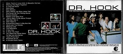 Dr Hook cd album- The Definitive Collection, ft 22 songs