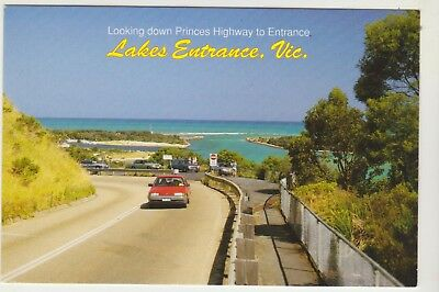 Princes Highway Lakes Entrance Victoria Rose Postcard