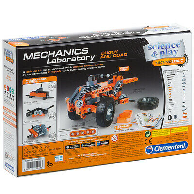 NEW Clementoni Mechanics  Laboratory  Buggy & Quad Kit