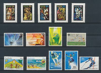 LJ62571 Australia nice lot of good stamps MNH