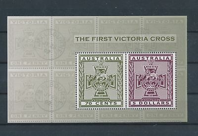 LJ62573 Australia victoria cross good sheet MNH