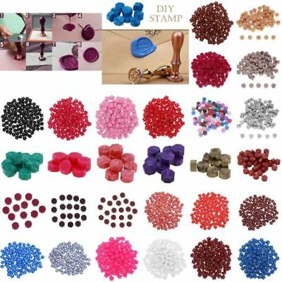 100pc Sealing Wax Beads For Retro Seal Stamp Wedding Envelope Invitation Card MD