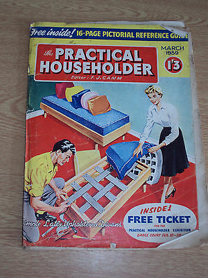 THE PRACTICAL HOUSEHOLDER - March 1959