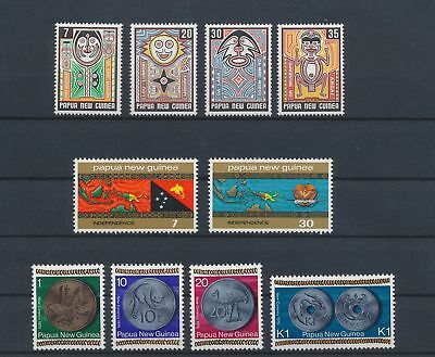 LJ62777 Papua New Guinea nice lot of good stamps MNH