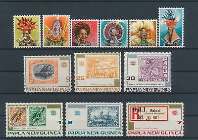 LJ62780 Papua New Guinea nice lot of good stamps MNH
