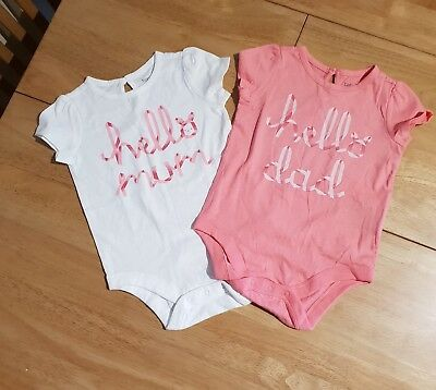 BABY GAP girl Vest Tops 6-12 Months (#4)