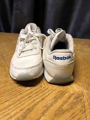Womens White REEBOK Princess Classic Low Top Lace Up Sneakers Shoes Sz 6