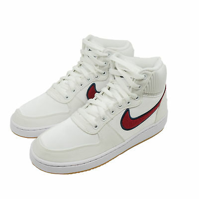new products f72f9 a4b7a Nike Ebernon Mid Premium Women High Sneakers Basketball-Shoes White AQ1769 -100