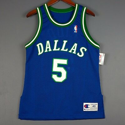 100% Authentisch Jason Kidd Vintage Champion Mavericks Trikot Size 40 S M Herren