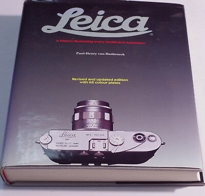 Leica A History Illustrating Every Model and Accessory 1992 book