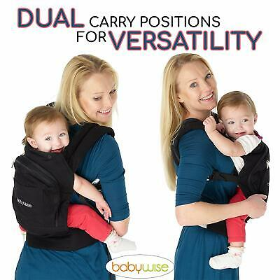 BABY WISE Ergonomic strong breathable adjustable baby carrier 6 Months +