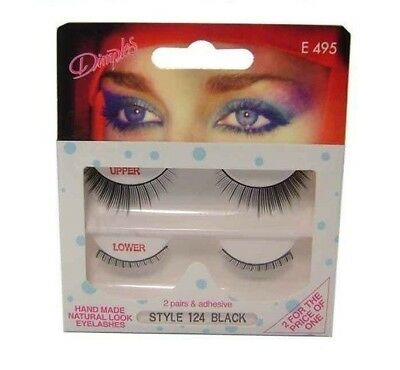 WHOLESALE / JOB LOT - 10 PACKS x DIMPLES STYLE 124 LASHES - NEW