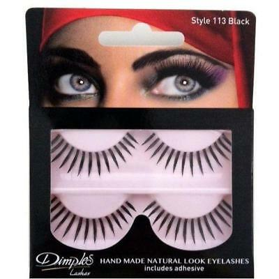 WHOLESALE / JOB LOT - 7 PACKS x DIMPLES STYLE 113 LASHES - NEW