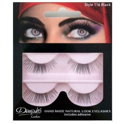 WHOLESALE / JOB LOT - 7 PACKS x DIMPLES STYLE 116 LASHES - NEW