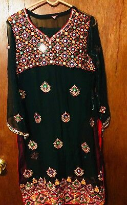 Pakistani and Indian embroidery Latest Style Dress