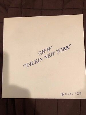 """Bob Dylan  GWW """"Talkin' New York"""" 45 Record with picture sleeves"""