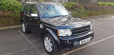 7 Seater Land Rover Discovery 3 4 Hse 2.7L D Tdv6 Facelifted 2012 Black Top Spec