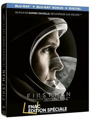 First Man Blu-Ray Steelbook + Bonus Disc Fnac Exclusive [France]