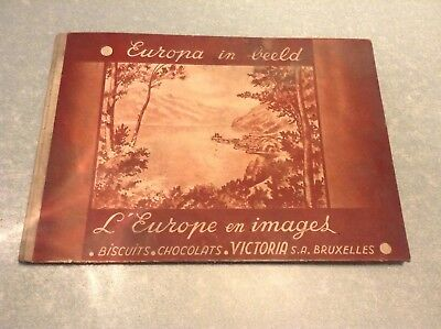 Ancien album victoria l'europe en image incomplet