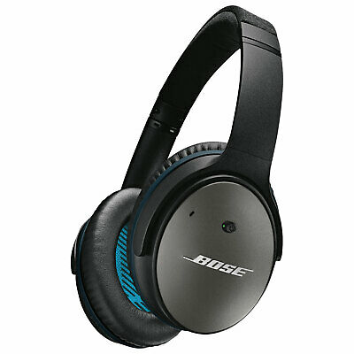 Bose QuietComfort 25 Acoustic Around-Ear Noise Cancelling Wired Headphones Black