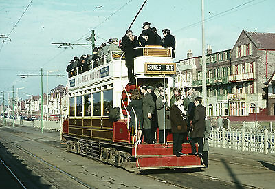 """trams of Blackpool Corporation Tramways Sets of 10 6x4"""" Colour Print Photos"""