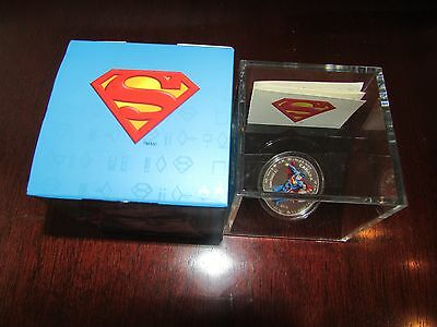 Canada 2013 $15 Superman Silver 75th Anniversary - Limited Mintage