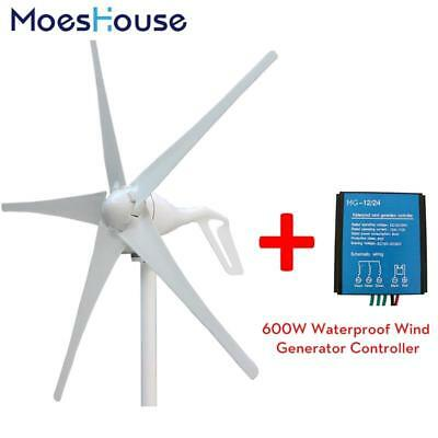 3 Blades or 5 Blades Wind Generator 400W Wind Power Turbine with 600W Waterproof