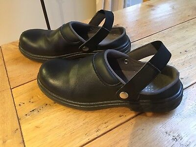 Portwest Safety Clog Shoes Work Toe Cap Durable Food Medical Industry FW82 UK9