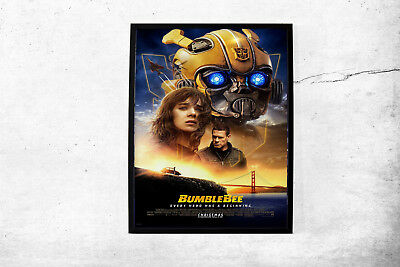 Bumblebee Transformers Large Poster Wall Art Print A0 A1 A2 A3 Maxi