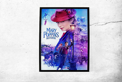 Mary Poppins Returns Movie Poster Wall Art Maxi Prints 2019 Film Cinema-1630