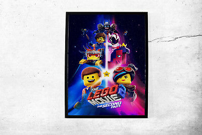 The Lego Movie 2 The Second Part Movie Poster Wall Art Maxi Prints 2019 -1633
