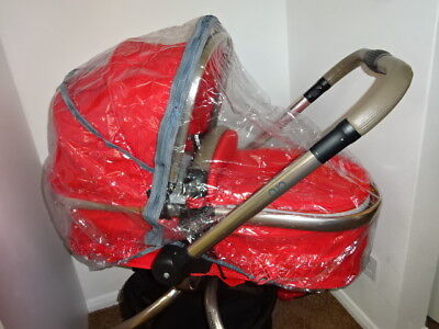 New RAINCOVER PVC Zipped to fit Mothercare Orb Carrycot or Seat Unit