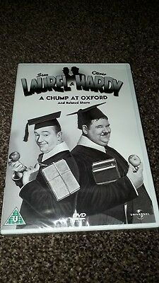laurel and hardy DVD - Short film collection - Volume No. 1  - A chump at oxford