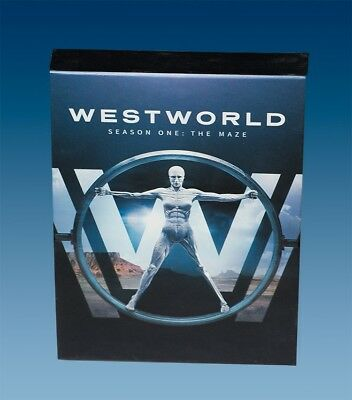 Westworld: The Complete First Season 1 (DVD, 2017, 3-Disc Set) With HBO Features