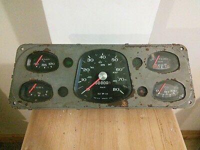 Vintage Instrument Cluster/Smith's UK.
