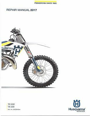 husqvarna motorcycle tc 250 tc 450 tc 510 full service repair manual 2006