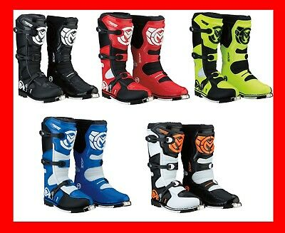2019 Moose Racing M1.3 MX Offroad Motocross ATV UTV Boots - Pick Size and Color